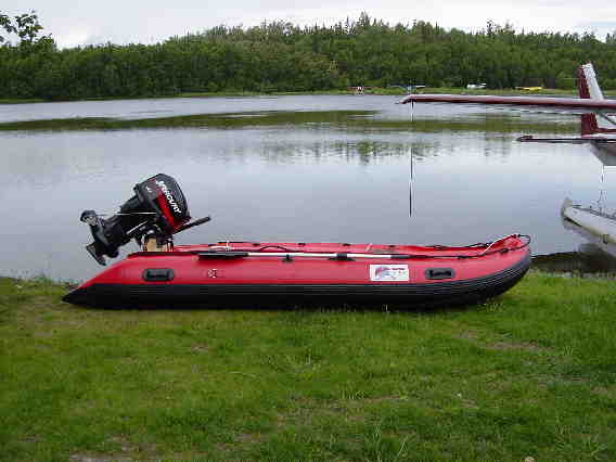 Alaskan Jet Ranger Inflatable Jet Boat Built For A 25hp